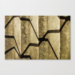 Shadow in Hackney3 Canvas Print