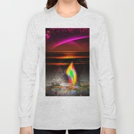 Our world is a magic - Sunset Long Sleeve T-shirt