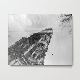 Reflection. Novodevichy convent. Moscow. Metal Print
