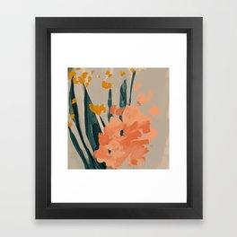 Bouquet Of Summer Citrus Framed Art Print