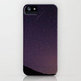 Teide by Night Skies iPhone Case