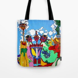 the devil's triple daughter Tote Bag
