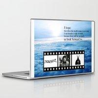 donnie darko Laptop & iPad Skins featuring Donnie Darko by Arianna Bears