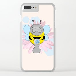 Manabee Clear iPhone Case