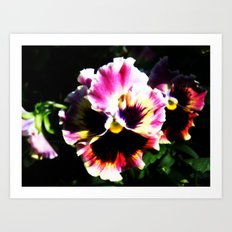 Petals with Pizzazz Art Print