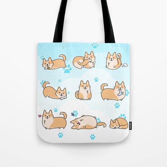 I love corgis Tote Bag