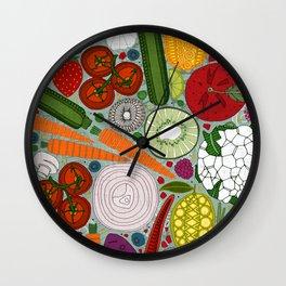 the good stuff mint Wall Clock