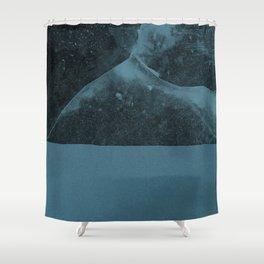 Ice landscape Shower Curtain