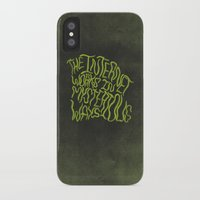 internet iPhone & iPod Cases featuring MYSTERIOUS INTERNET by Josh LaFayette