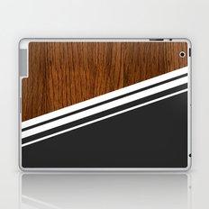 Wood StYle black Laptop & iPad Skin
