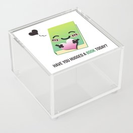 Book Emoji Love Acrylic Box