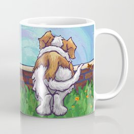 Animal Parade St. Bernard Coffee Mug