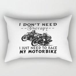 RACE MY MOTORBIKE Rectangular Pillow