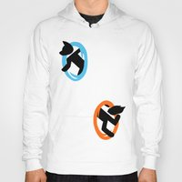 furry Hoodies featuring Furry Transportation  by Santi