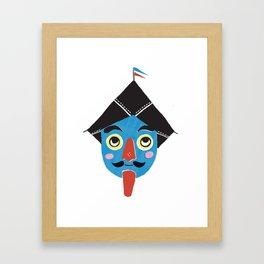 Drachen Framed Art Print