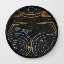 Dreams of Trappist-1 (Past the Outer Rings) Wall Clock