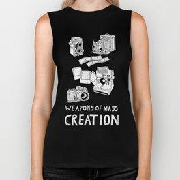 Weapons Of Mass Creation - Photography (white) Biker Tank