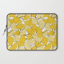 ginkgo leaves (yellow) Laptop Sleeve