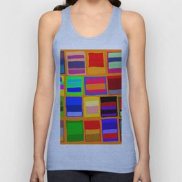 Rothkoesque Unisex Tank Top
