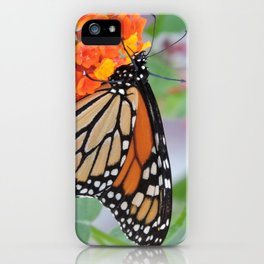 The Monarch Has An Angle iPhone Case