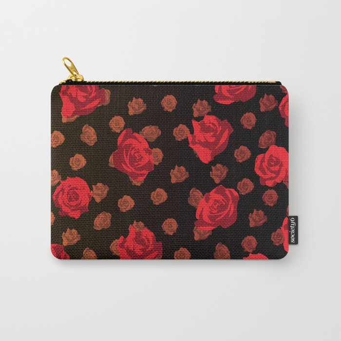 dark roses Carry-All Pouch