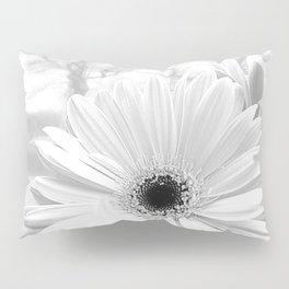Winter White Gerbera Daisy A199 Pillow Sham
