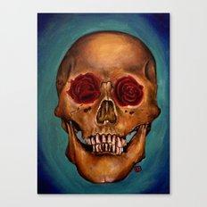 Memento Mori Skull Canvas Print