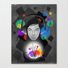 Synaesthesia Canvas Print