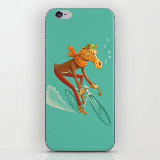 I want to ride my bicycle! iPhone & iPod Skin