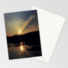 Sunset, Lake lanier Stationery Cards