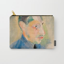 Igor Stravinsky (1882 – 1971) by Robert Delaunay in 1918 Carry-All Pouch