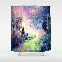 Pastel Fantasy path Shower Curtain