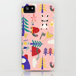 Tortoise and the Hare is one of Aesop Fables pink iPhone Case