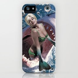 Pin Up Ocean Abyss iPhone Case