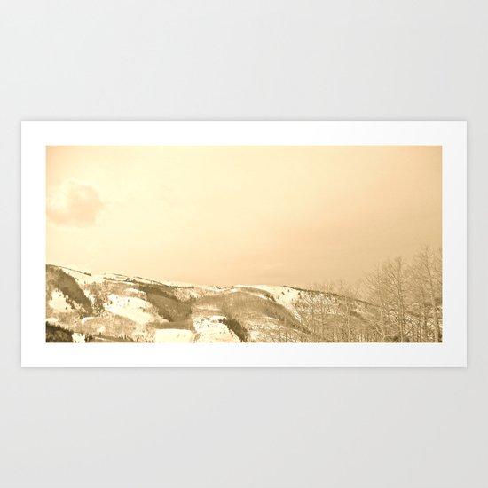 Warm Ambiance Art Print