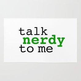 Talk nerdy to me Rug