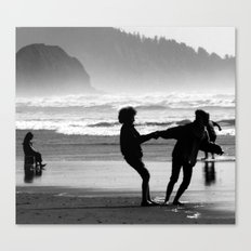 Hold on to me Canvas Print