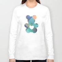 teddy bear Long Sleeve T-shirts featuring Teddy Bear by General Design Studio