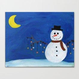Snowman 3: Jingle All the Way Canvas Print