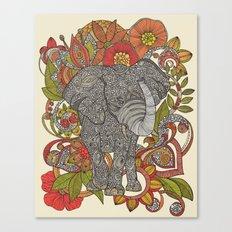 Bo the elephant Canvas Print