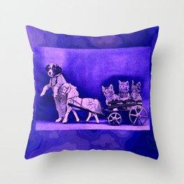 CatCurios 07 Throw Pillow