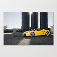 lamborghini Canvas Prints featuring Lamborghini by Speed-Photos