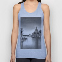 Venice Pencil Drawing Unisex Tank Top