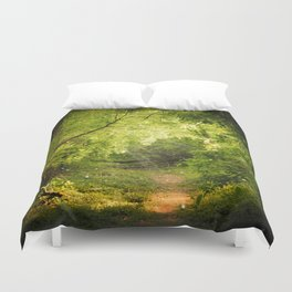 The Secret Path Duvet Cover