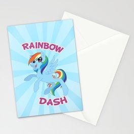 MLP FiM: Rainbow Dash Stationery Cards