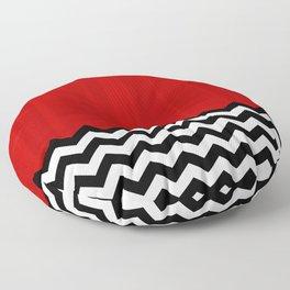 Twin Peaks - The Red Room Floor Pillow