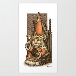 Gnome Queen Art Print