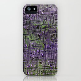Lavender Hues Abstract iPhone Case