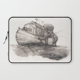 Hanging in a Houseboat Laptop Sleeve