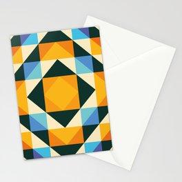 composite squares Stationery Cards